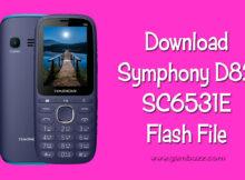 symphony d82 6531e flash file