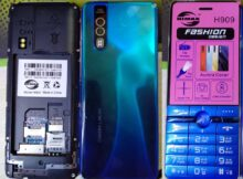 Himax H909 SC6531E Flash File