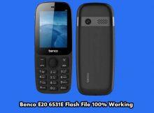 Benco E20 flash file firmware