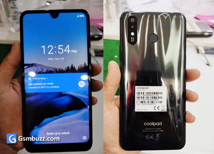 coolpad color x 1939 flash file firmware